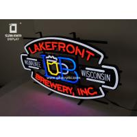 Best Beer Lakefront Custom Neon Signs Brewery Personalized Advertising Neon Signs wholesale