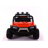Quality 12V7AH Battery Powered Kids Drivable Truck With Multifunctional Music Steering Wheel for sale