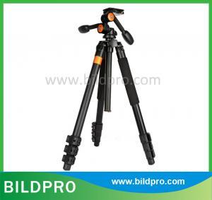 China BILDPRO Professional Black Aluminum Tripod Photo Stand Tourism Accessories For Nikon Canon Cameras on sale