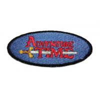 Buy cheap Iron on Adventure Time with Finn and Jake TV show LOGO embroidered patch from wholesalers