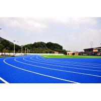 Customized Blue Track And Field Rubber Runway No Smell Environmental Protection