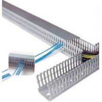 Quality Durable Self adhesive plastic cable duct , wire duct, cable trays, cable cover for stage, electric for sale