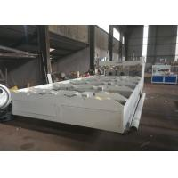 Quality Twin Screw PVC Pipe Extrusion Line Corrugated Pipe Machine 42KW Speed 20m / Min for sale