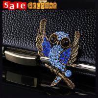 Quality Vintage Retro Owl Crystal Brooch ,Dress брошки Brooch Clothing Accessories Gift Wholesale for sale