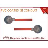 Quality Orange PVC Coated BS4568 GI Electrical Conduits with 1.6mm Thickenss for sale