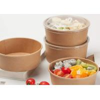 Quality 8 oz paper bowls Attractive price new type Paper Salad Or Soup Bowl, Food Paper Container for sale