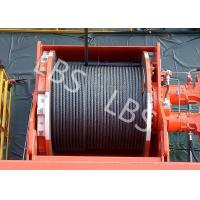 Quality Lebus Groove Offshore Tower Crane Winch Drum / Hydraulic Crane Winch for sale