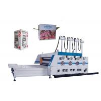 Quality 3 / 4 Color Flexo Printing Machine Carton Box Printing And Slotting Machine for sale