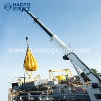Quality Customized lift weight 1 ton 3 ton 4.5ton telescopic boom marine deck crane for sale for sale