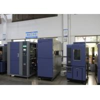 Quality 2 Zone Type Thermal Shock Test Chamber High and Low Tempearture Reservation Cabinet for sale