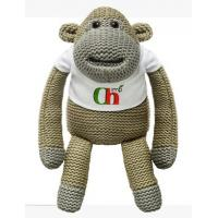 Quality Knitted Monkey Stuffed Animal Toys Plush Toys for sale
