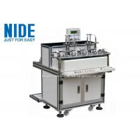 Quality 4 Station Armature Winding Machine / Small Electrical Winding Machine With PLC Controller for sale