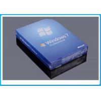 Quality MS Windows 7 Professional Box , Windows 7 Professional Retail Pack With 1 SATA Cable for sale