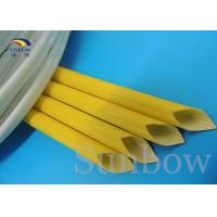 Buy cheap Silicone Rubber Braided Fiberglass Sleeving Silicone Fiberglass Sleeving from wholesalers