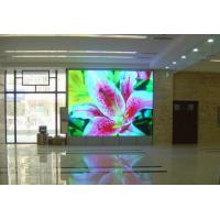 Quality Indoor SMD3528 Full Color 120°V led curtain display P7.62 with Low power consumption for sale