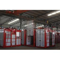 Buy cheap Passenger Hoist Lift Double Cage for passenger .Building Material , Construction from wholesalers