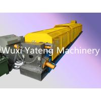 Quality Mirror Polished Roller Material Gutter Roll Forming Machine For Water Pipe / Drin Pipe for sale
