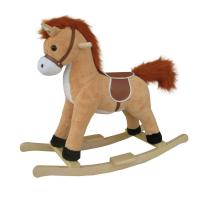 Quality Fashion Rocking Horse With Sound And Moving Mouth and Tail And Led Light Big Size for sale