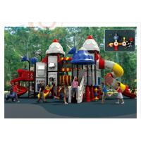 Quality South Korea Import Food Grade Plastic LLDPE Anti-UV Outdoor Park Big Children Playground for sale