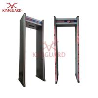 Quality High Sensitivity 6zone Walk Through Metal Detectors for Private Buildings security check for sale