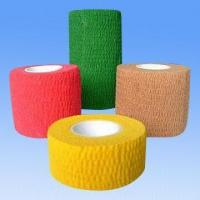 Quality Cohesive Elastic Bandage, Tear by Hand Wide Porous Light Breathable, 12 Colorful for sale