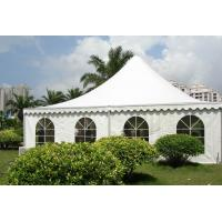 Quality Pagoda tent pvc fabric wedding marquee tent manufacturer in China for sale