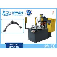 Best Steel Pipe Clamp / Pipe Hold Automatic Spot Welding Machine With Rotary Table wholesale