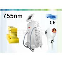 Quality Professional 755nm Alexandrite Laser Hair Removal Machine with 11mm × 11mm / 10mm × 17mm Spot Size for sale