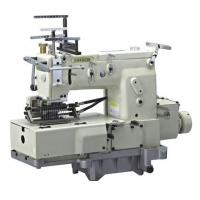 Quality 12 Needle Flat-bed Double Chain Stitch Sewing Machine with Shirring FX1412PSSM for sale