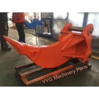 Quality Wooden Package Excavator Ripper MultifunctionRock Ripper Pick Red Color for sale