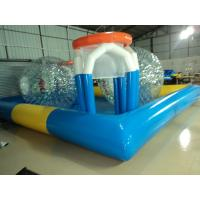 Buy cheap Unique Blue 0.9mm PVC Tarpaulin Inflatable Family Pool Eco Friendly from wholesalers