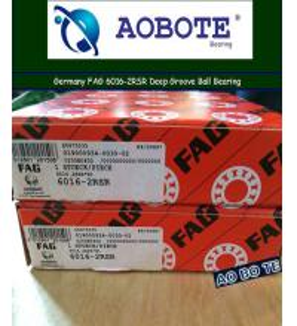 Quality Single Row FAG Roller Bearings 6016-2RSR , Deep Groove Ball Bearings for sale