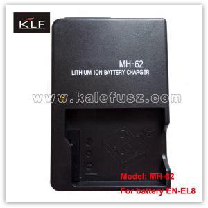 Quality Digital Camera Battery Charger MH-62 For Nikon Battery EN-EL8 for sale