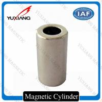 Quality 1/4*1 Inch Cylinder N42 Neodymium Magnet Nickel Plated 5000 Gauss For DC Motor for sale