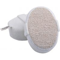 Quality Dot Hemp Polyester Terry body scrubber for shower , Natural Pad For Skin Cleaning for sale