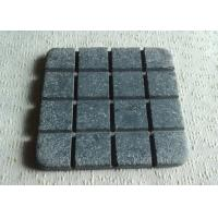 China Tea / Coffee Plain Stone Coasters , Luxury Marble Stone Coasters Custom Size on sale