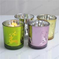 Best Chritmas candle jar, Chritmas glass candle holder for decor wholesale