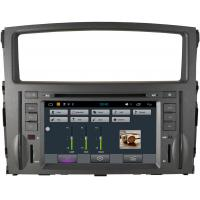 Quality Stereo Montero Mitsubishi Sat Nav DVD , 3G WiFi Car DVD Player GPS Navigation Radio for sale
