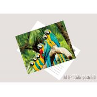 Quality Promotion Cartoon 3D Lenticular Postcard / Flip Lenticular Image Printing for sale