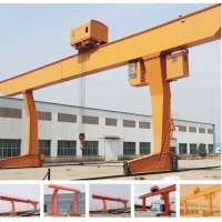 Quality Warehouse 3t 5t 10t L Type Single Girder Gantry Crane for sale