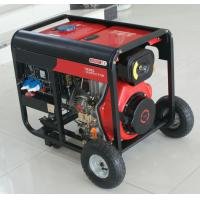 Quality 6KVA/5KW Air-Cooled Open Type Small Portable Diesel Generator Set Minimal vibration for sale