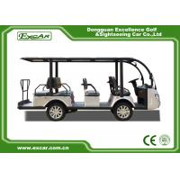 Buy Silver 11 Seater Electric Sightseeing Bus 7.5KW KDS Motor 1 Year Warranty at wholesale prices