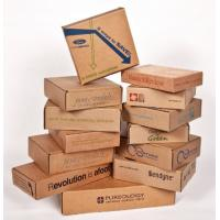 Quality Waterproof Cardboard Mailing Boxes , Custom Packing Boxes With Recycled Materials for sale
