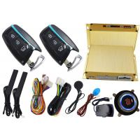 China Smart Car Alarm System With RFID Emergency Unlock And Push Button Start Stop Engine on sale