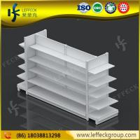 Quality High quality supermarket  warehouse perforated rack shelving system wholesale by leffeck for sale