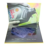 Quality Custom Buttons Control LCD Video Brochure , IPS LCD Screen Video Brochure for sale
