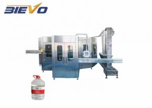 Quality 10L 1200bph 2000kg Packaged Drinking Water Filling Machine for sale