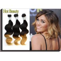 China Raw Virgin Peruvian Hair Natural Wave 3 Tone Coler 12 -28 In Stock on sale