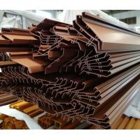 Quality China Factory aluminium profile for stairs bronze anodizing large size with competitive price for sale