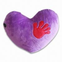 Quality Battery-operated Heart Shape Pillow Massager with On/Off Control and Hand-figured Heating System for sale